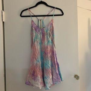 LF tie dye dress